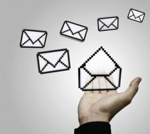 image of emails for email marketing blog